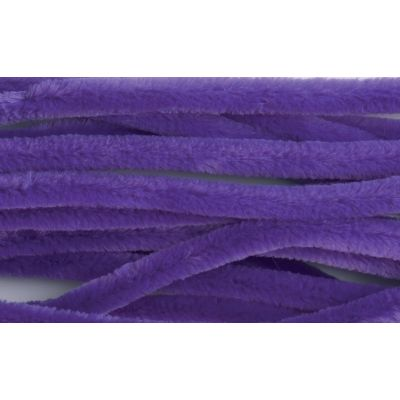 Chenilles / Pipe Cleaners - Purple 12mm x 300mm - 15 Per Pack