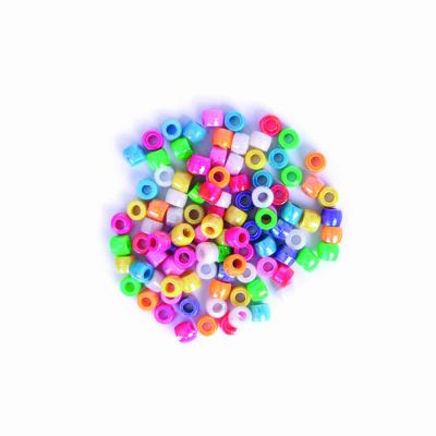 Pony Beads - Assorted - 7mm - 20grams Per Pack