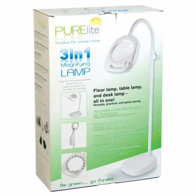 PURElite Three-in-One Magnifying 150mm Lamp