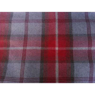 Porter & Stone - Balmoral - Cherry - Curtain Fabric