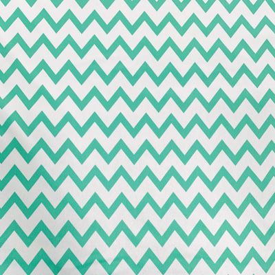 Plush Addict Mint Chevron Patterned PUL Fabric (Polyurethane Laminate fabric) - Waterproof Breathable Fabric