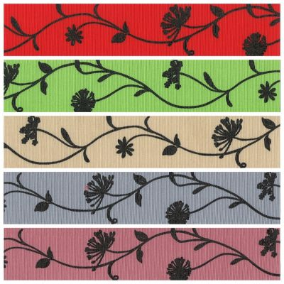 Berisfords Christmas Ribbon - Bramble - 5 Colours - 40mm Wide