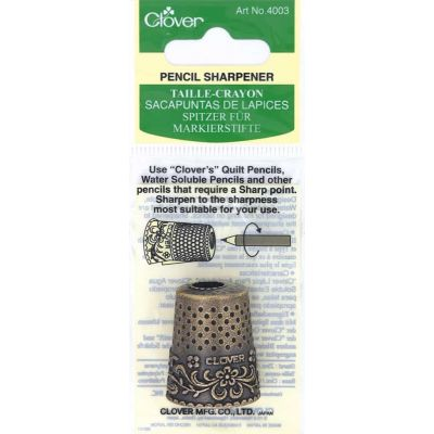 Clover Thimble Design Pencil Sharpener