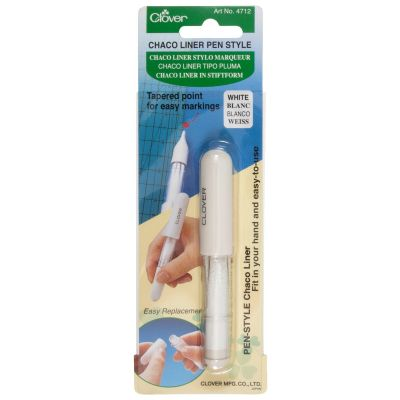 Clover Chaco Liner Pen Style - White