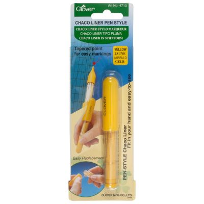 Clover Chaco Liner Pen Style - Yellow