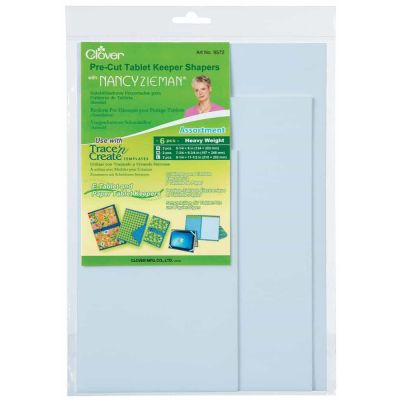 Clover Trace n Create E-Reader / Tablet / IPad / Document Folder Inserts