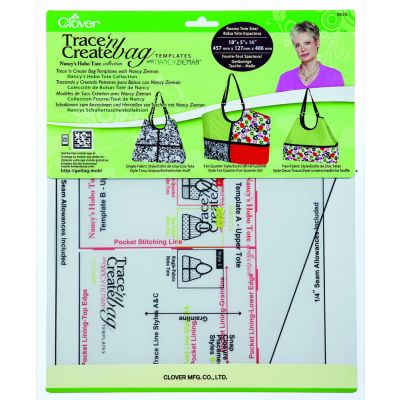 Clover Trace n Create Hobo Tote Bag Templates