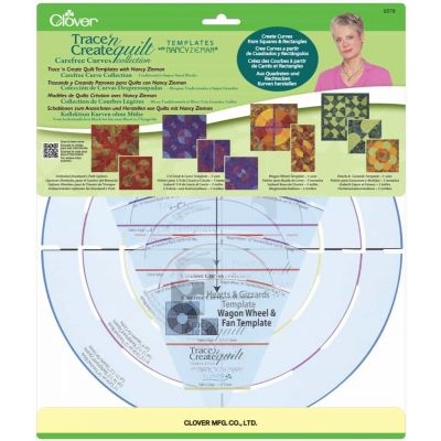 Clover Trace n Create Quilt Templates - Carefree Curves Templates