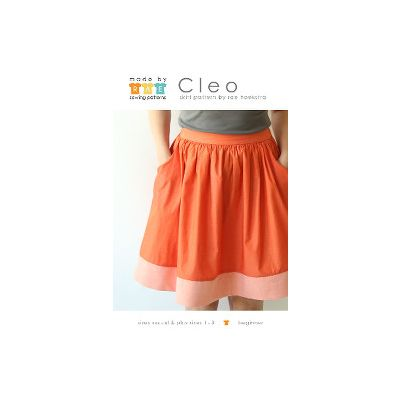 End of Line - Made By Rae Sewing Patterns -  Cleo Skirt Dressmaking Pattern