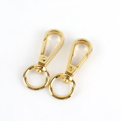 Metal Gold Hook Swivel Bag Clip In Gold 13mm