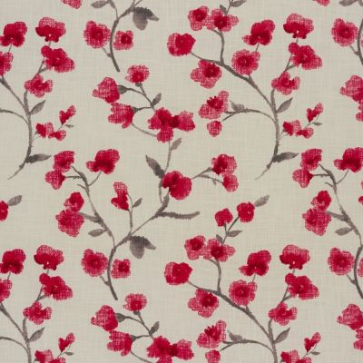 Como - Cherry - Curtain Fabric