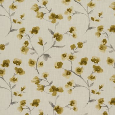 Como - Ochre - Curtain Fabric
