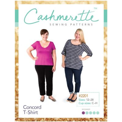Cashmerette Sewing Patterns - Concord T-Shirt Dressmaking Pattern