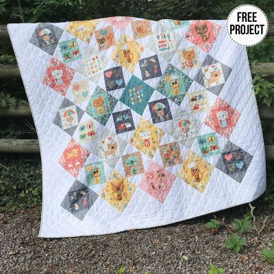 Makower - Cool Cats - Free Quilt Pattern - Instant Download