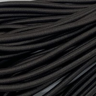 Round Elastic Cord - 3mm Wide - Graphite