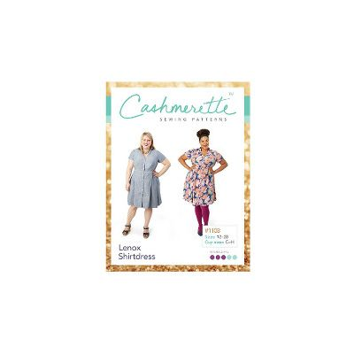 Cashmerette Sewing Patterns -  Lenox Shirtdress Dressmaking Pattern