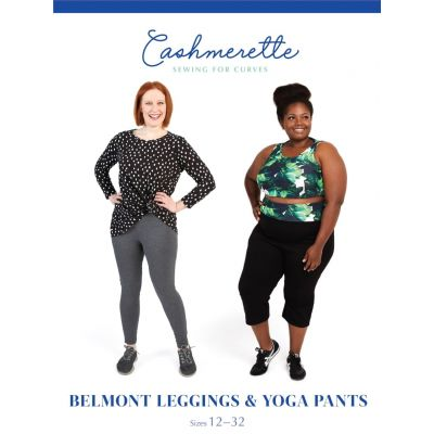 Cashmerette Sewing Patterns -  Belmont Leggings And Yoga Pants Dressmaking Pattern