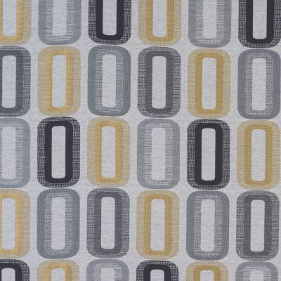Dahl - Ochre - Curtain Fabric
