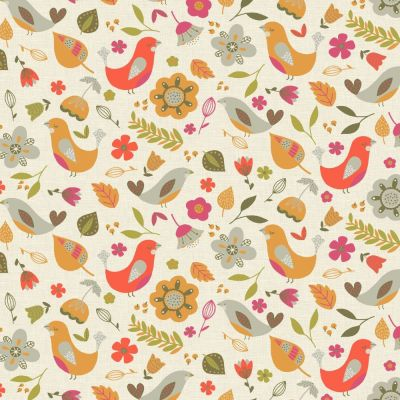 Dalarna - Tutti Fruity - Curtain Fabric