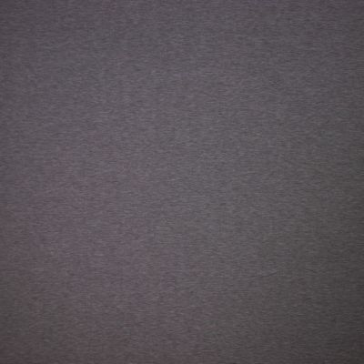 Remnant -Solid Colour Bamboo Jersey Fabric - Dark Grey Melange - 1m x 160cm - Creased/Bolt End