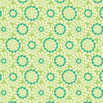 Dashwood Studio - Belle Epoque - Chrysanthemun On Lime