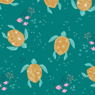 Dashwood Studio - Into The Blue - Turtles