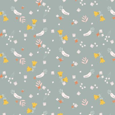 Dashwood - Emi & The Bird - Birds On Pale Grey