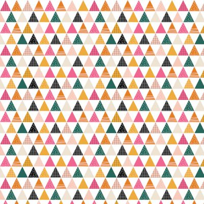 Dashwood Geo Forest Triangles Cut Length