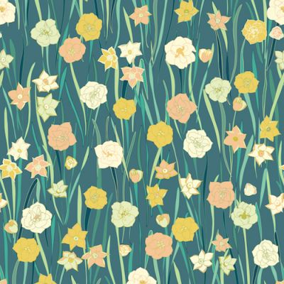 Dashwood - Jardin Anglais - Slate Small Flower