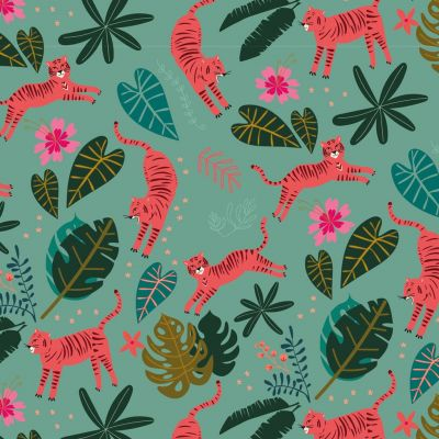 Dashwood Studio - Night Jungle - Pranging Tigers