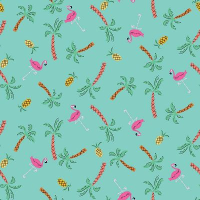Dashwood Studio - Lazy Days - Flamingos