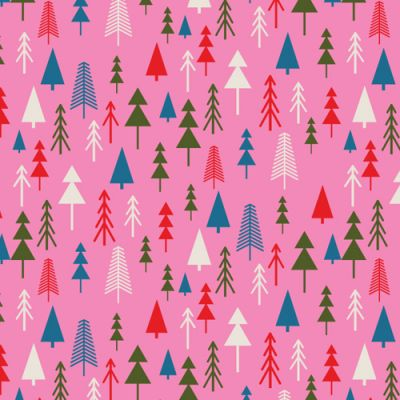 Dashwood Merry And Bright Trees Cut Length