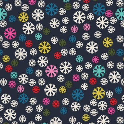 Dashwood Merry And Bright Snowflakes Cut Length
