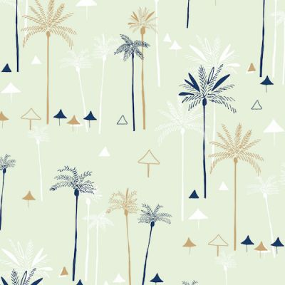 Dashwood - Ocean Drive - Palm Trees Metallic