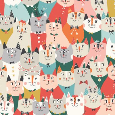 Dashwood Christmas Party Cat Office Party Cut Length