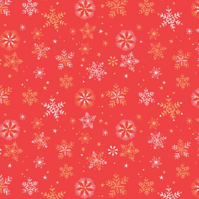 Dashwood Skogen Small Snowflakes Metallic Cut Length