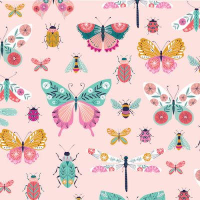 Dashwood Summer Dance Butterflies And Bugs Cut Length