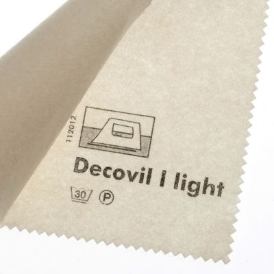 Vilene Iron-on Decovil Light - Natural - 90cm