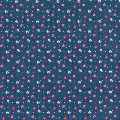 100% Cotton Chambray Fabric - Ditsy Floral