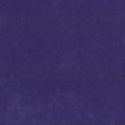 Remnant -Purple Suede Cloth - 92 x 160cm - Creased/Roll End