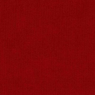 Baby Cord 16 Wale - Red - corduroy fabric