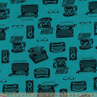 Sevenberry - In The Press - Typewriters Blue