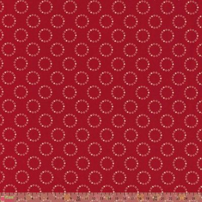 Dashwood Studio - Dutch Heritage - Circles Red