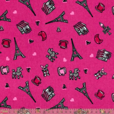 Nutex - Flannel Fabric - Paris