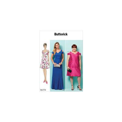 Remnant - Butterick Sewing Pattern B6558 - RR- 18w-20w-22w-24w - End of Line