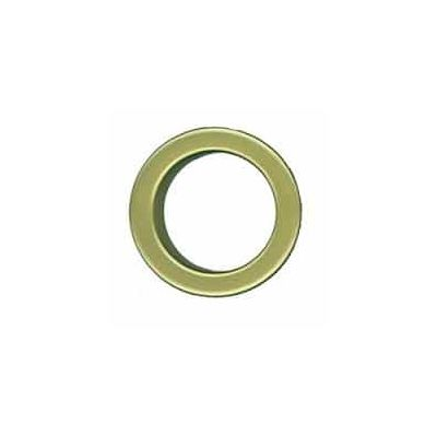 38mm Curtain Eyelet Rings Matt Brass