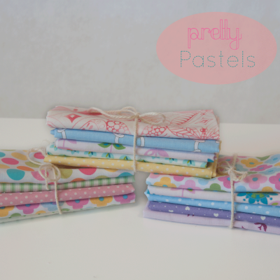 Skinny Dips (Fat Eighth) : Pretty Pastels