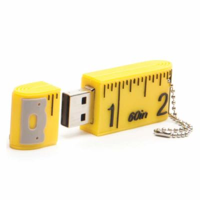 USB - 2GB - Novelty Tape Measure