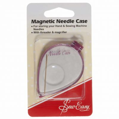Sew Easy Magnetic Needle Case With Threader and Magnifier
