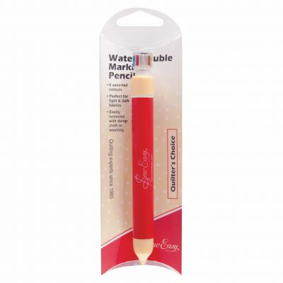 Retractable Wash-Out Pencil - 6 Colours In One